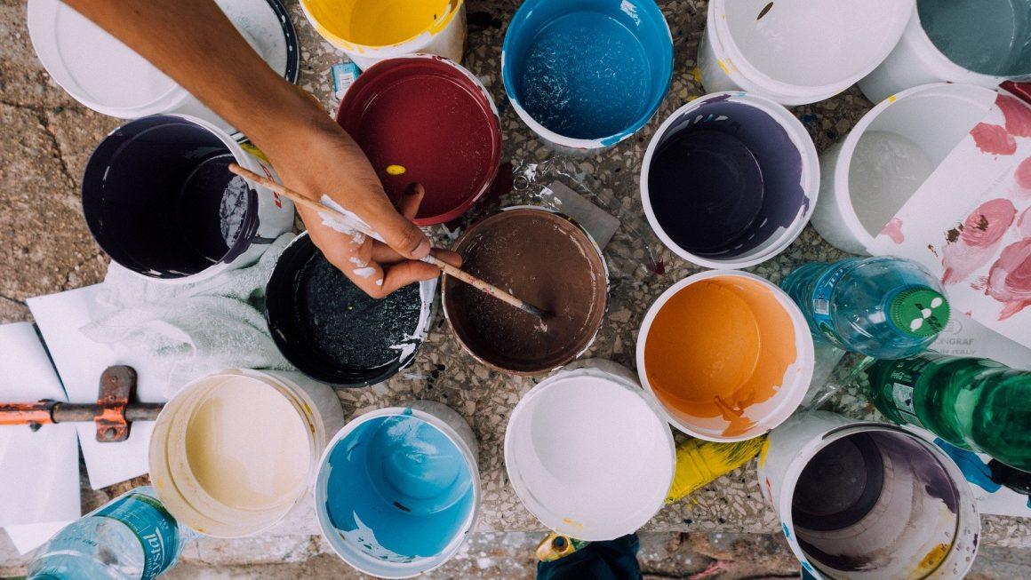 peinture fait maison